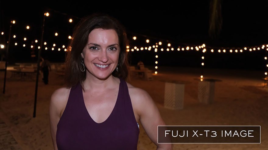 Fuji X-T3 Low Light Portrait