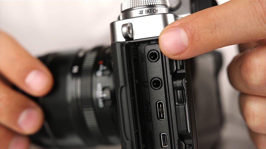 Fuji X-T3 Microphone Input