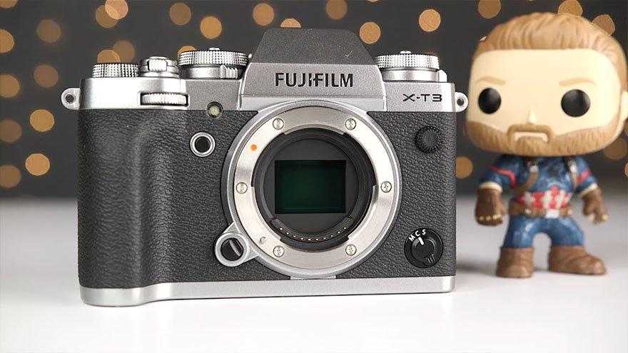 Fuji X-T3 APS-C Sensor