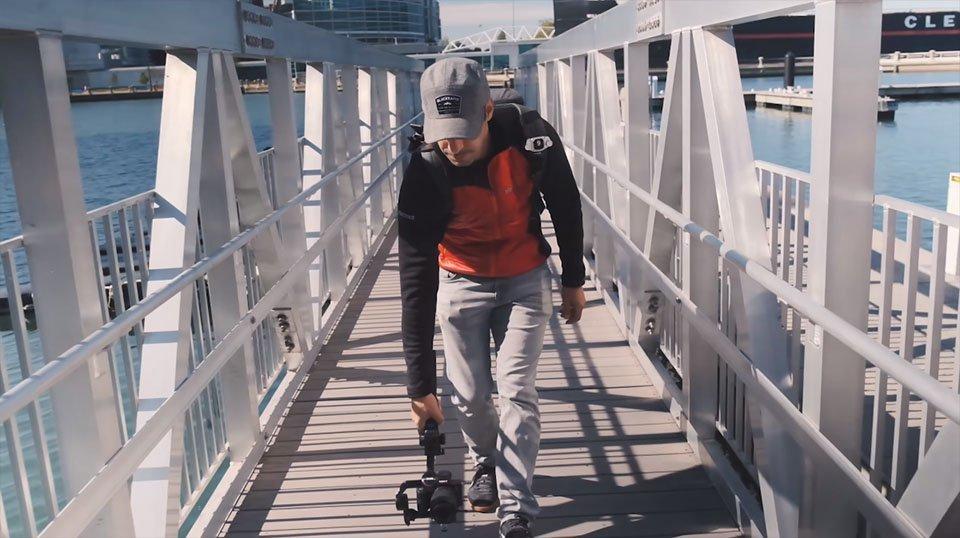 zhiyun weebill s walking bridge