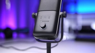 elgato wave 3 usb microphone multifunctional dial