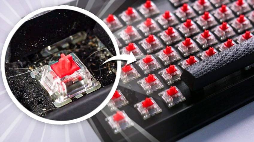 How to Best Clean a Mechanical Keyboard